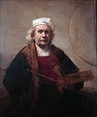 1660 Rembrandt self_portrait