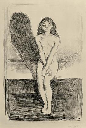E.Munch, Pubertät