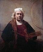 1660 Rembrandt self_portrait